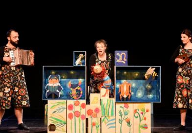 """1.6.2018. Kazališna predstava za djecu: """"STONOGA GOGA"""" u 18:00 sati"""