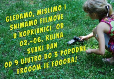 Filmska škola za djecu i mlade u Koprivnici