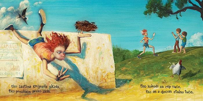 Grga Čvarak ilustracija