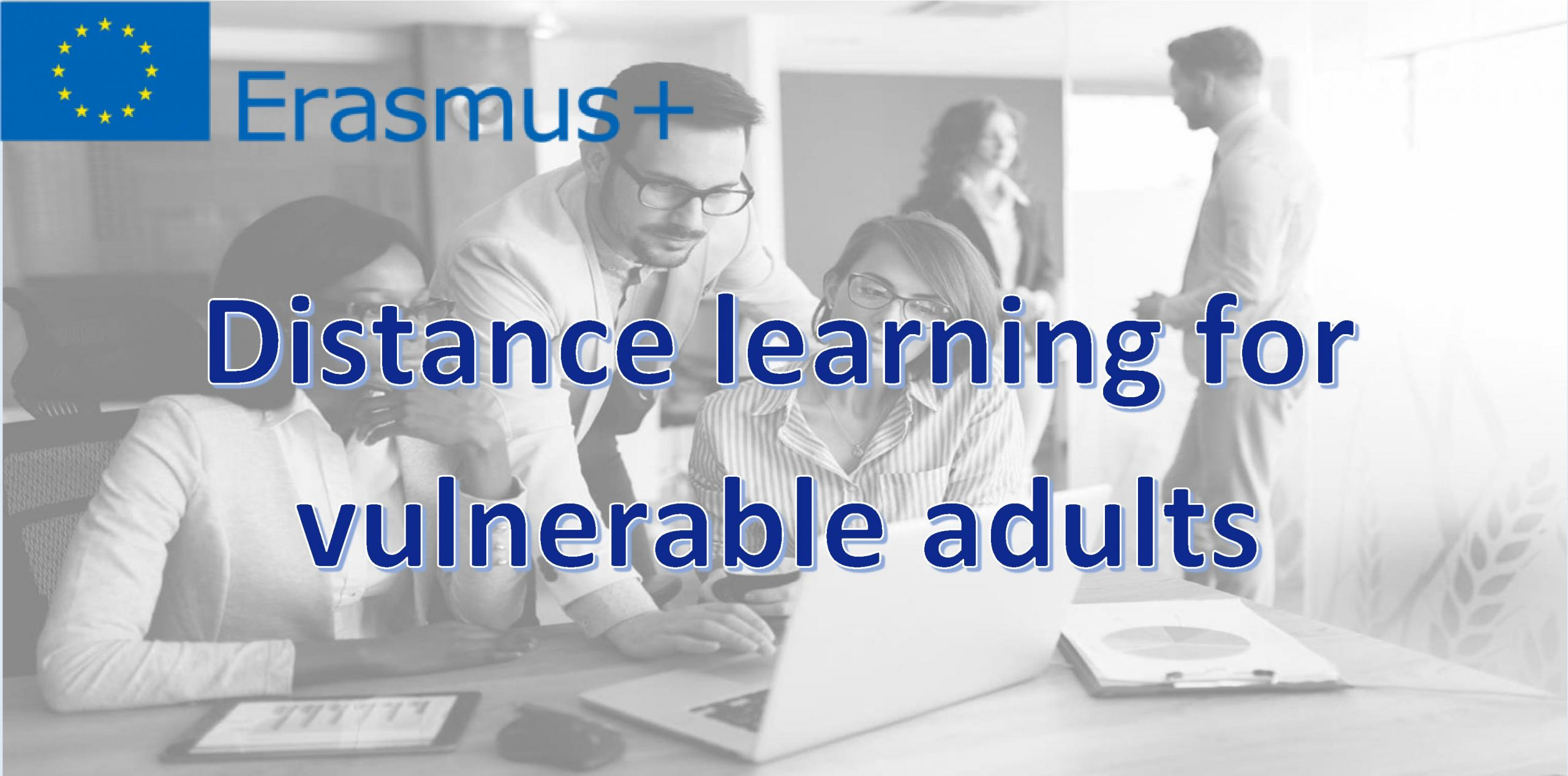 Distance learning for vulnerable adults - projekt